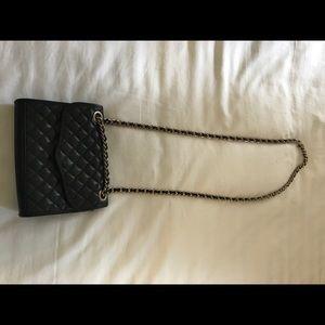 Rebecca Minkoff Black Mini Quilted Crossbody Bag